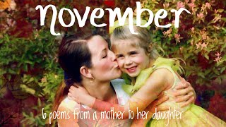 Emma Fillipoff NOVEMBER - Six Poems From A Mother To Her Missing Daughter