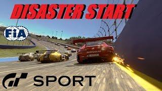 GT Sport Disaster Start - FIA Round 3 Manufacturer