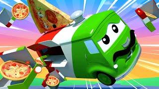 Odtahové auto pro děti Karlito Dělá Skvělou Pizzu Odtahové auto