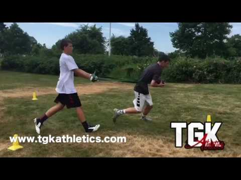 Great workout for QB, WR, TE, RB Group Trainings or 1 On 1 Available. For More Info Please Visit www.tgkathletics.com