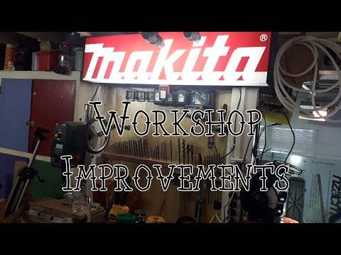 Workshop Improvement, Tools & Stuff (Part 4)