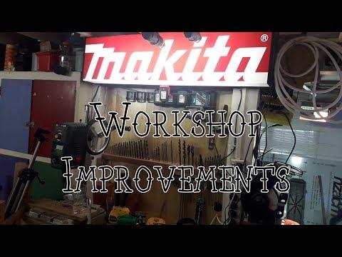 Workshop Improvement, Tools & Stuff (Part 4)