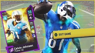 Calvin Johnson Might Be TOO OP! Forces Rage Quit Montage! (Madden 20)