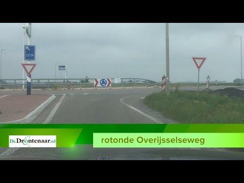 Overijsselseweg tussen Dronten en Lelystad twee nachten dicht in verband met verzakkingen