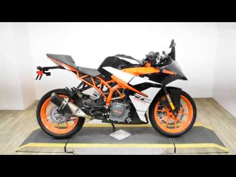 2017 KTM RC 390 in Wauconda, Illinois - Video 1