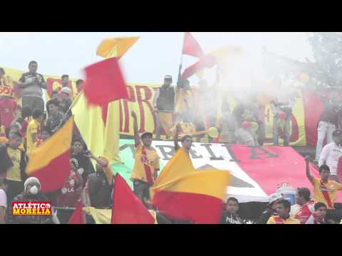 """""""""""El Color"""" Atlético Morelia Vs Club América - Ligas 80´s y 90´s"""" Barra: Locura 81 • Club: Monarcas Morelia"""