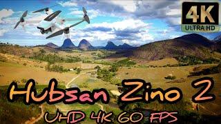 Testando Qualidade de imagem Hubsan Zino 2 a 4K a 60 FPS