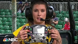 Danica Patrick explains complexities of IndyCar steering wheel | Indy 500 | Motorsports on NBC