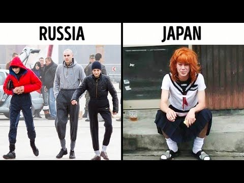 WHAT GANGS FROM ALL OVER THE WORLD LOOK LIKE