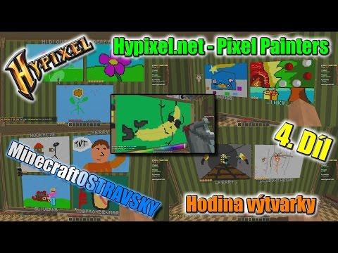 #4 | Hodina výtvarky - Hypixel.net | _Ferry_,HodkyCZE, DAV360 a Honz | MinecraftOSTRAVSKY | [FULLHD]