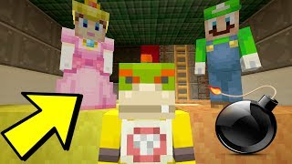 BOMB SHELTER! [SAVING LIVES] - Nintendo Fun House - (Minecraft Switch) [204]