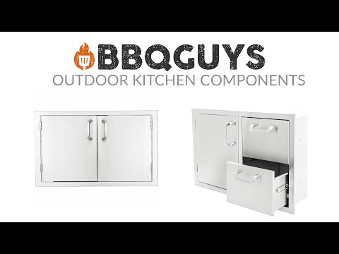 BBQGuys Outdoor Kitchen Components