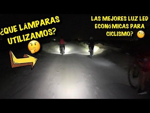 PROBANDO LAMPARAS ECONÓMICAS DE MERCADO LIBRE    RODADA NOCTURNA