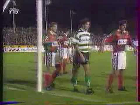 Маритимо 0-2 Спортинг Лиссабон. Чемпионат Португалии 1994/1995. видео