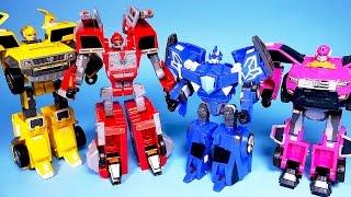 미니특공대 최강전사 변신, 또봇 파워레인저 다이노포스 타요 뽀로로 MiniForce Carbot transforming car toys