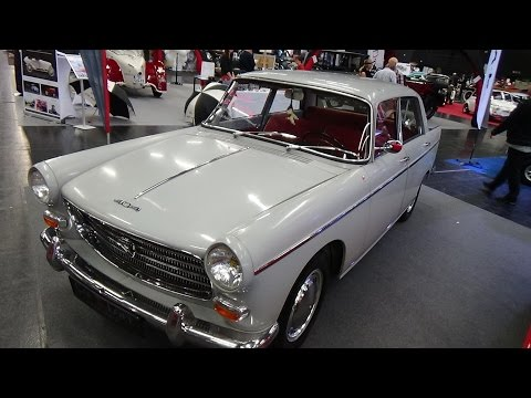 PEUGEOT 404 Bérline 1962 1/24 New & Box Diecast Model Car Auto Vintage
