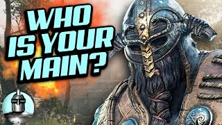 What Your FOR HONOR Main Says About YOU! | The Leaderboard