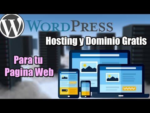 Crear tu propia Pagina Web con Hosting y Dominio Gratis   WordPress