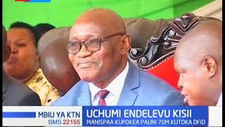 Manispaa ya kaunti ya Kisii kunufaika na mradi wa uchumu endelevu, shurika la Uingereza litatoa fedh