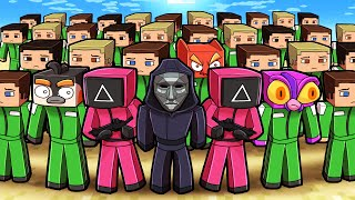 Minecraft SQUID GAME but with 100 REAL PLAYERS! (Win $$$ Prize)