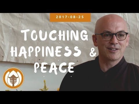 "2017 08 25 Br Pháp Lai: First Talk (""Nourishing Happiness"" UK Retreat)"