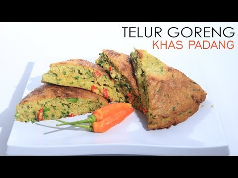 Video Resep Masakan Dadar Telur Goreng Khas Padang