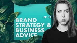 Going From Identity Design To Brand Strategy—A Deep Dive W/ Melinda Livsey Ep. 12