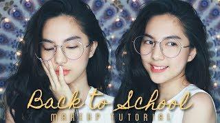 Back to School/Campus 'Minimal' Makeup Tutorial 📚 - Video Youtube