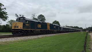 MUST WATCH!! Best Railfanning Trip To The Folkston Funnel Ever!! INSANE RARE Catches And 30 TRAINS!!
