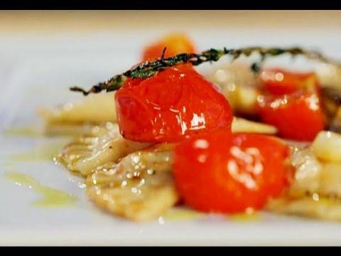 Как приготовить вареники с лососем и креветками. Рецепт - Основной инстинкт. Выпуск 3