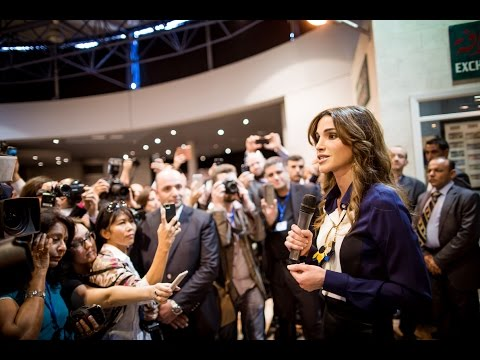 Queen Rania invites people to explore the Dead Sea and other historical sites in Jordan