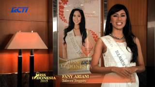 Fany Ariani Arsawijaya for Miss Indonesia 2015