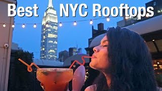 10 BEST Rooftop Bars in New York-  NYC Nightlife Guide 🍹(From A Local)