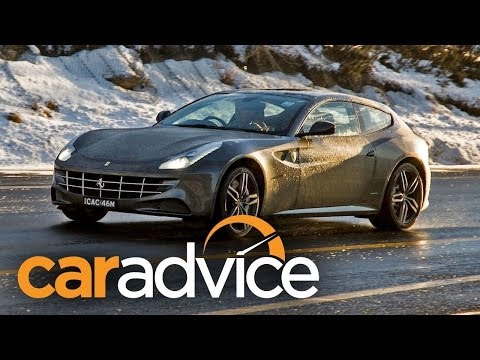 Ferrari FF Review: AWD supercar vs. Aussie snow