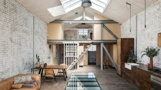 Interior Design | Industrial Warehouse Converted In Beautiful Modern Home • London