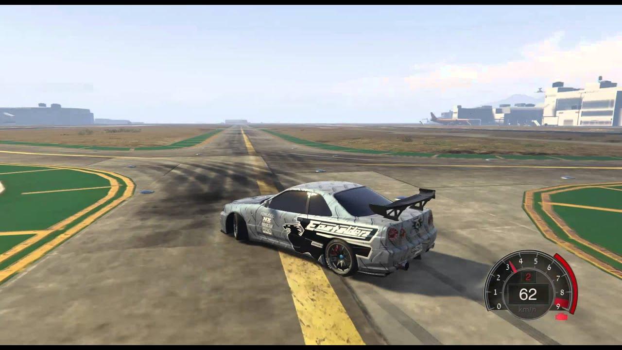 Nissan Skyline GT-R (R34) handling - GTA5-Mods.com