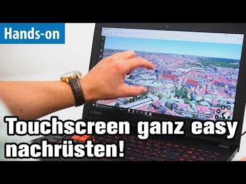 Günstig & genial: Touchscreen nachrüsten mit AirBar für Notebooks | Hands-on