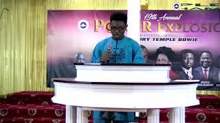 POWER EXPLOSION 2018: Bro. Joseph Somori - Faith