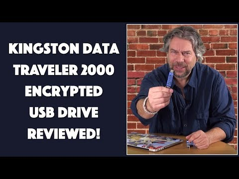 Kingston DataTraveler 2000 Encrypted USB Flash Drive — REVIEWED!