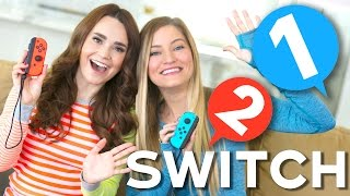 Playing Nintendo Switch with Ro!