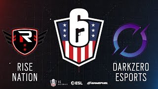 Rise Nation vs. DarkZero    Rainbow Six: US Nationals - 2019   Stage 2   Week 3   Eastern Conference