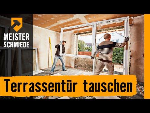 Terrassentür tauschen | HORNBACH Meisterschmiede
