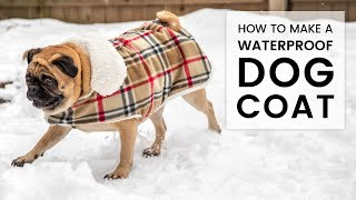 DIY Waterproof Dog Coat