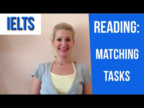 IELTS Reading: Tips for Matching Tasks