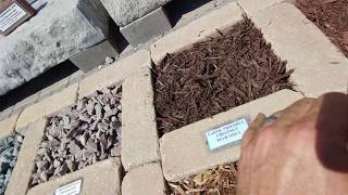 61 Decorative Landscape Stone & Mulch Types | Landscaping Ideas (Rocks & Roots Landscape Supply)
