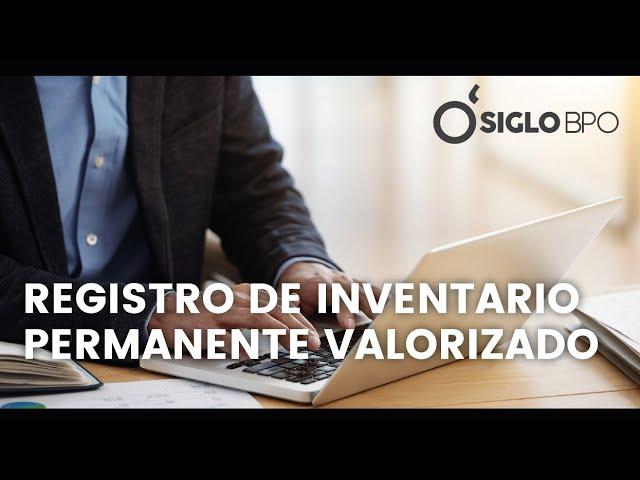 REGISTRO DE INVENTARIO PERMANENTE VALORIZAD0