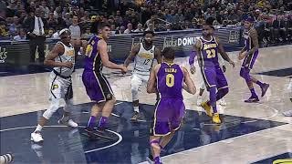 Los Angeles Lakers Vs Indiana Pacers : February 5, 2019