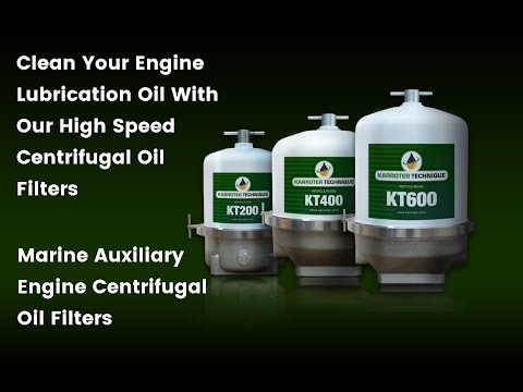 Centrifugal Lube Oil Cleaner For Marine Auxiliary Engines
