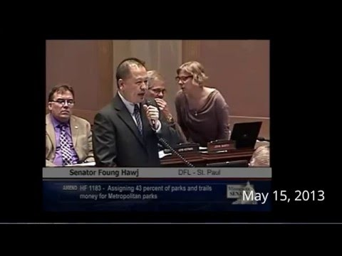 Sen. Foung Hawj mentioned Prince in 2013