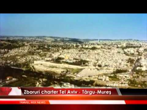 Zboruri charter Tel Aviv – Targu-Mures